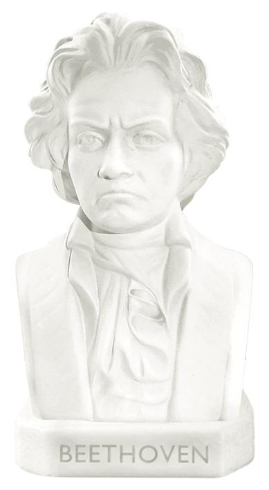 Radierer Große Meister der Musik - Beethoven