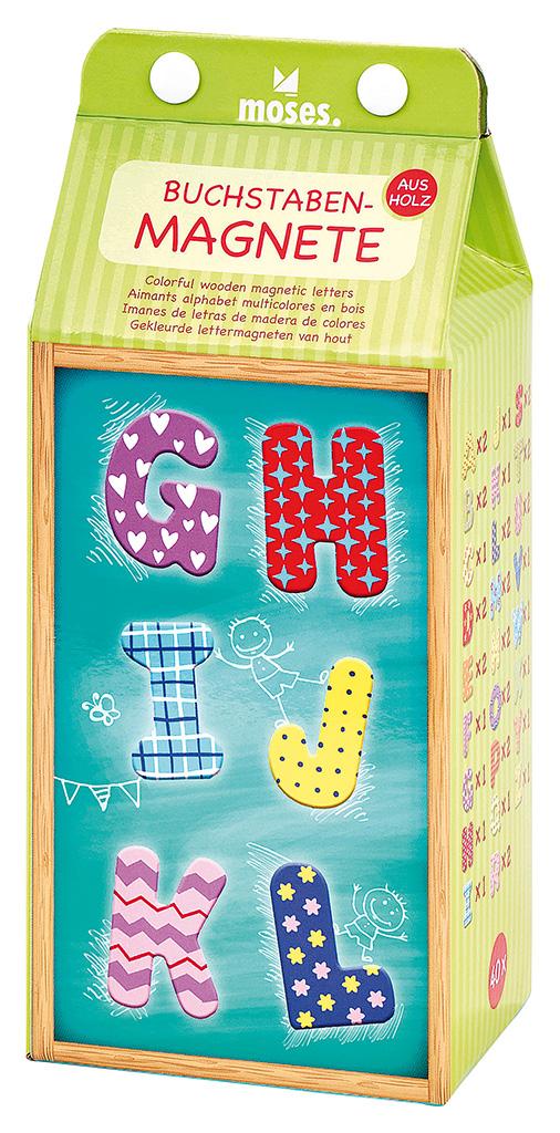 Buchstaben-Magnete