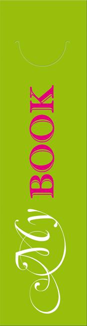 Abreißlesezeichenblock my book