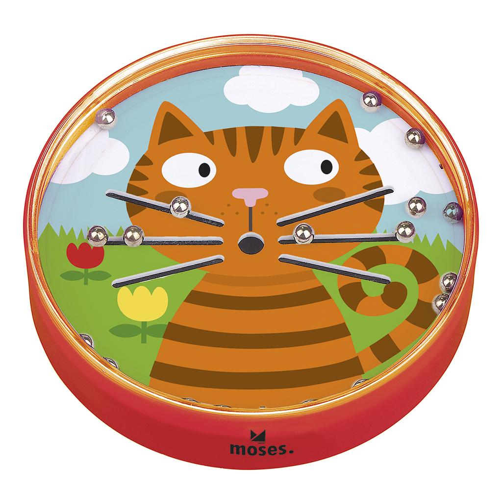 Up & Down Junior - Lustiges Kugel-Geduldspiel Katze