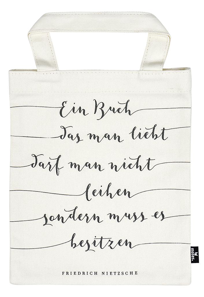 Büchertasche Friedrich Nietzsche