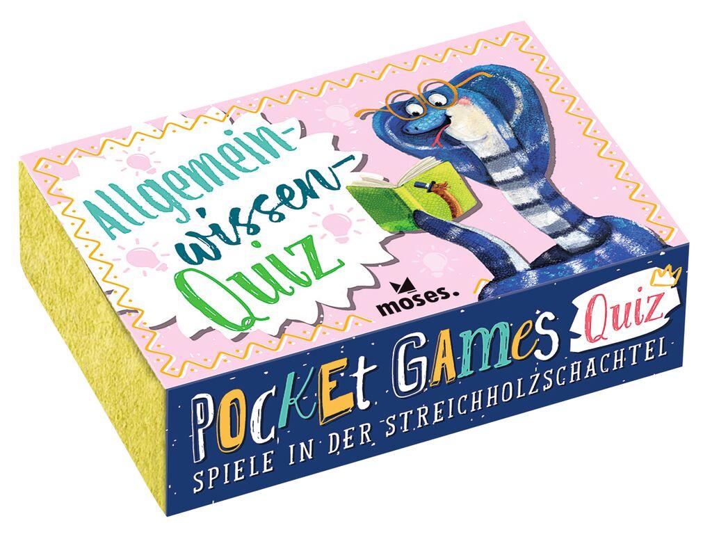 Pocket Games Quiz Allgemeinwissen