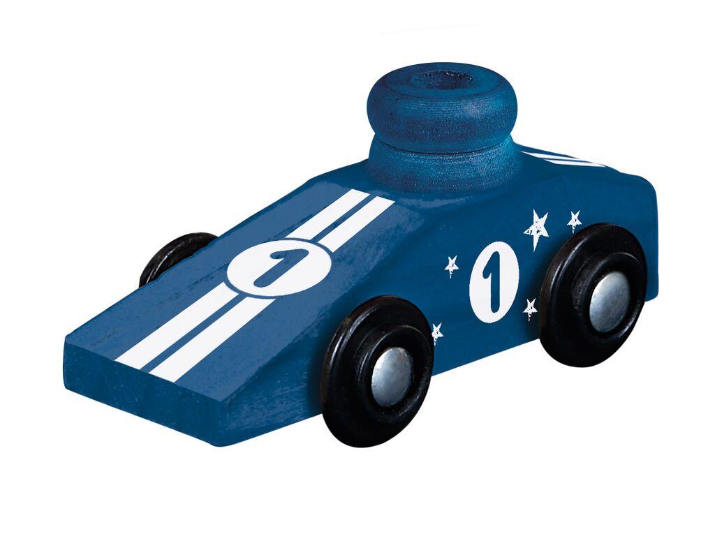 PhänoMINT Luftballon-Auto blau