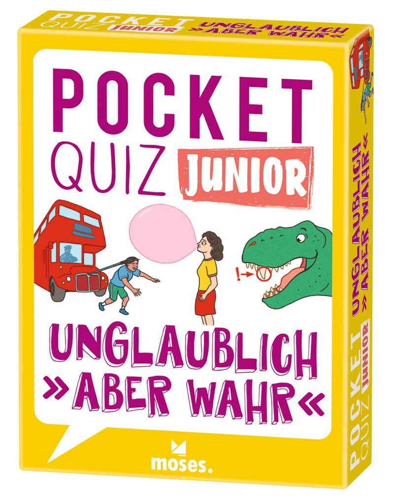 Pocket Quiz junior - Unglaublich, aber wahr