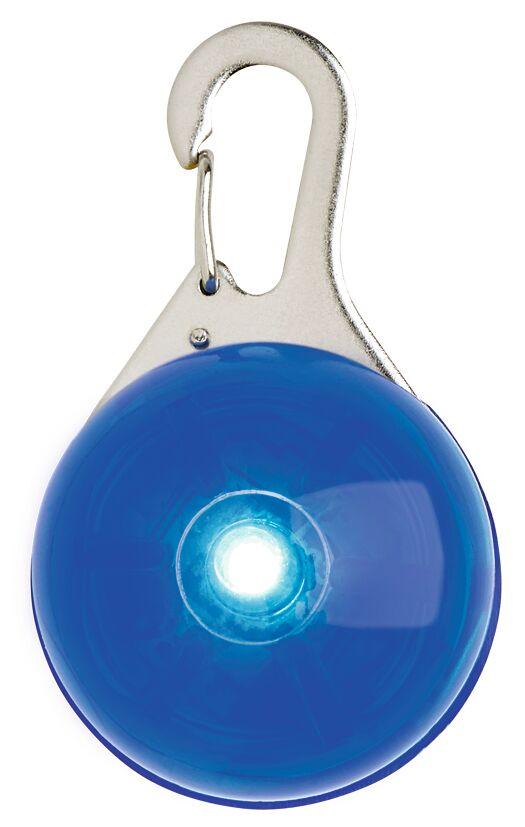 Leuchtender Clip-Anhänger mit LED blau