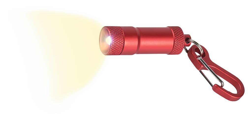 Fernweh Mini Taschenlampe rot
