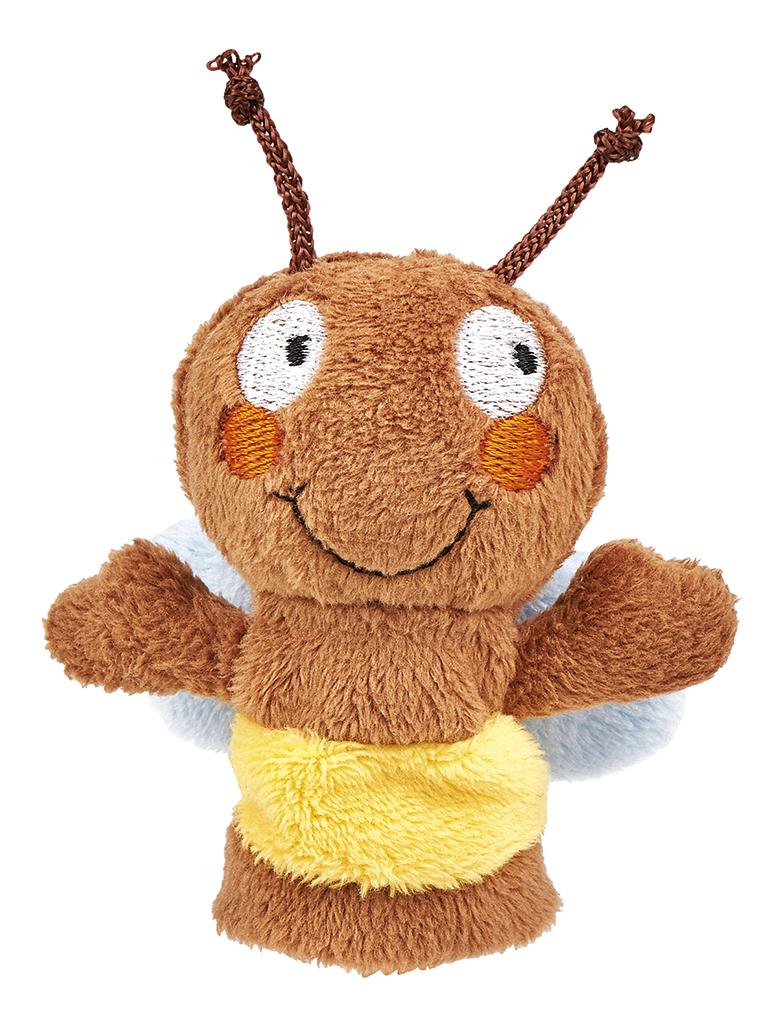 Krabbelkäfer Fingerpüppchen Biene