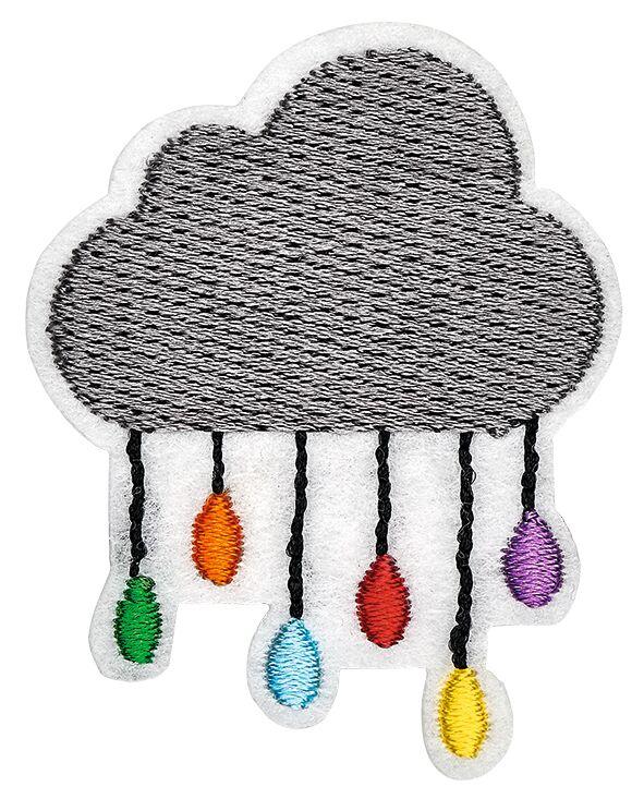Pin Patch Wolke
