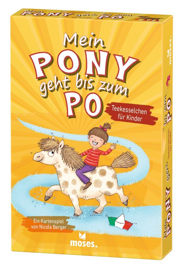 Mein Pony geht bis zum Po - Teekesselchen für Kinder