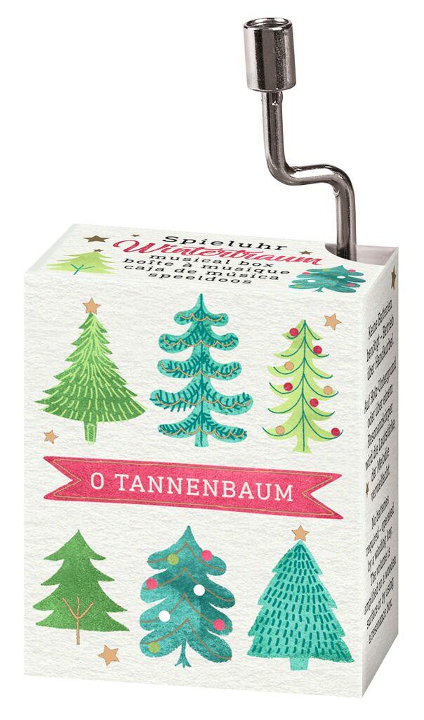 Spieluhr Winterwunder O Tannenbaum