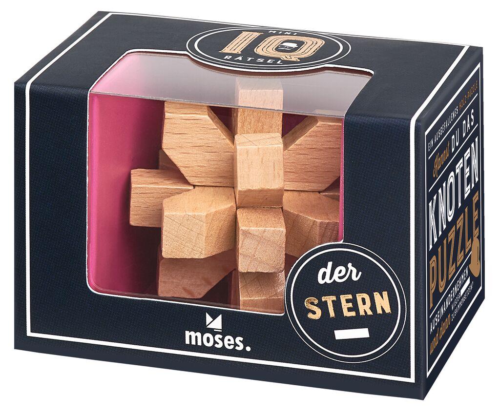 Prof Puzzle Mini IQ Rätsel Stern