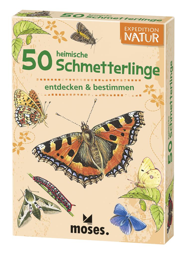 Expedition Natur - 50 heimische Schmetterlinge