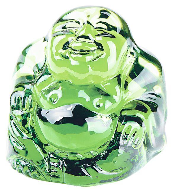 Omm for you Mini-Buddha grün