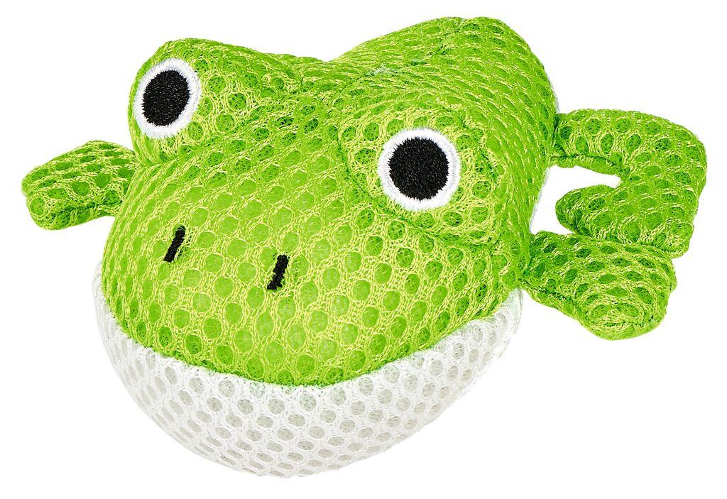 Schwimmender Badefreund aus Stoff Frosch