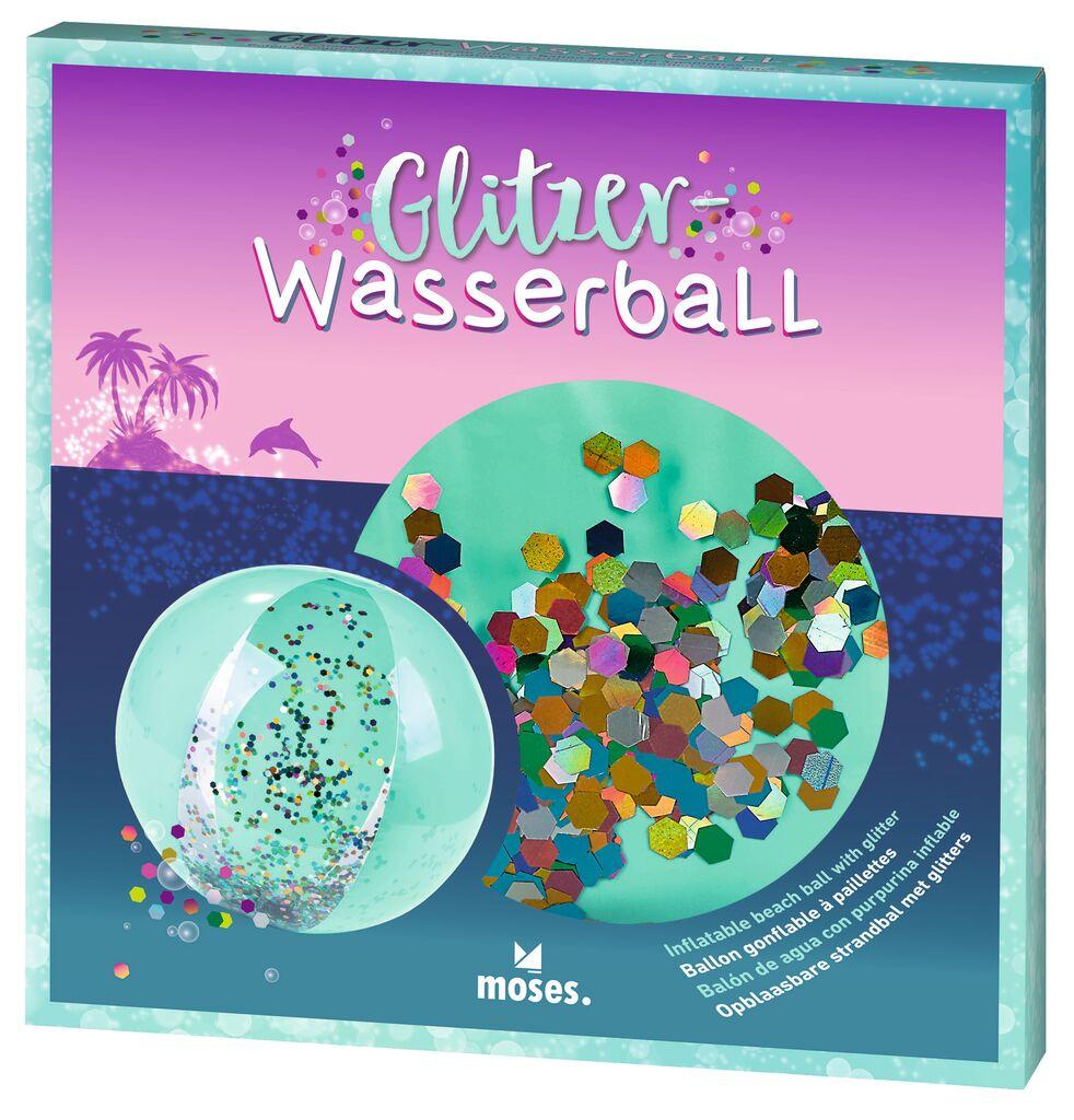 Glitzer-Wasserball