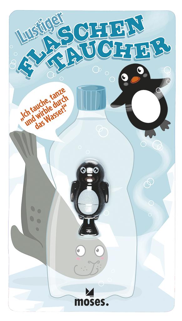 Flaschentaucher Pinguin & Robbe