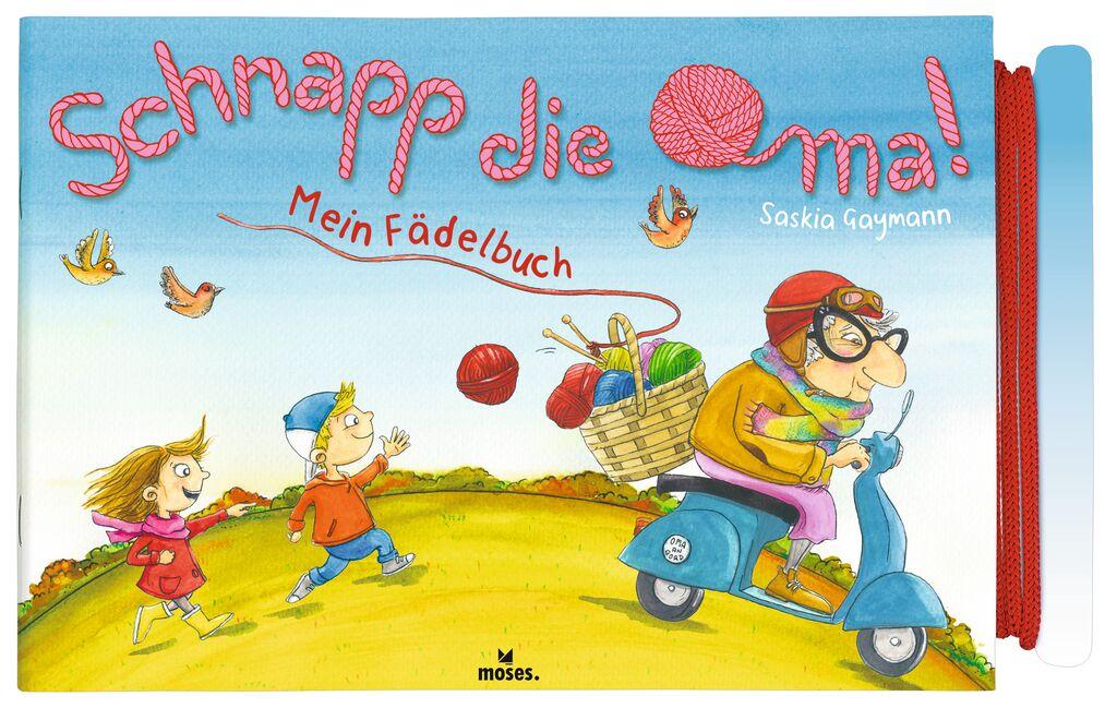 Mein Fädelbuch - Schnapp die Oma!