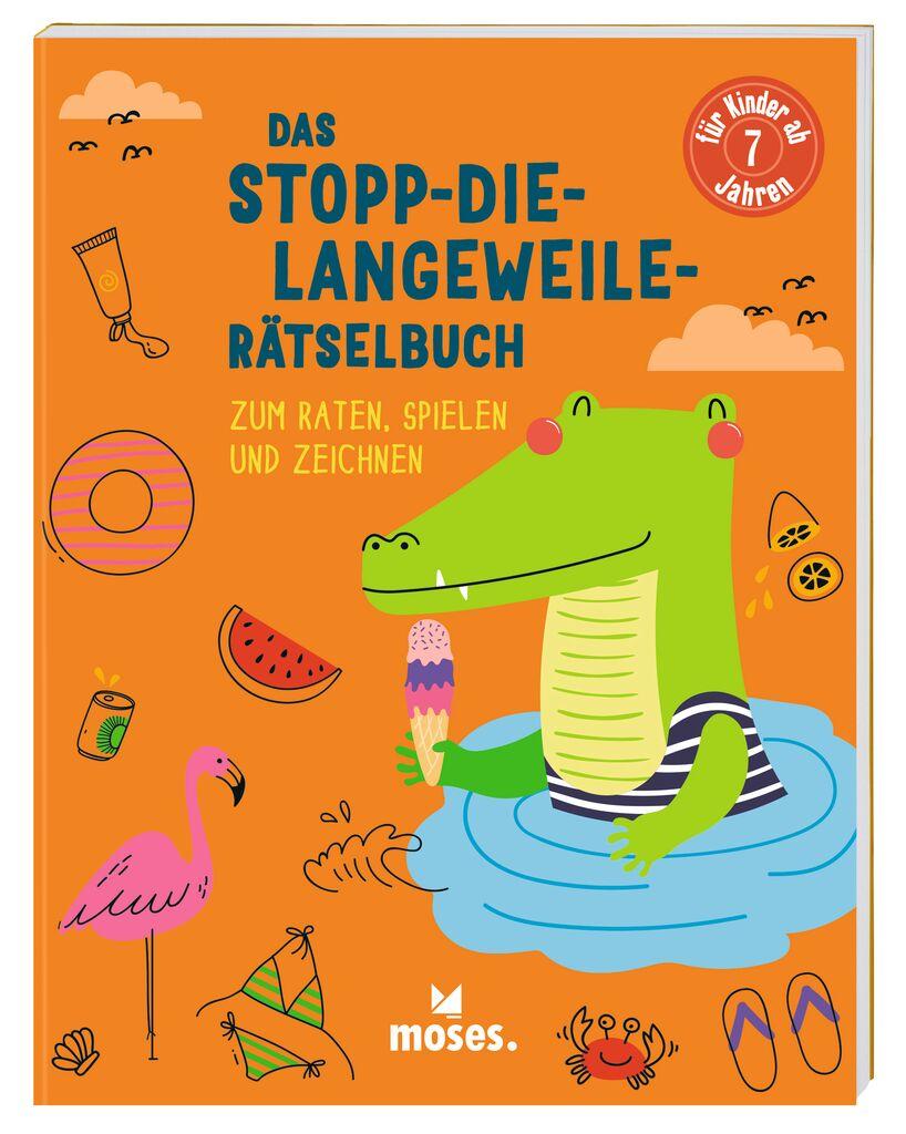 Das Stopp-die-Langeweile-Rätselbuch