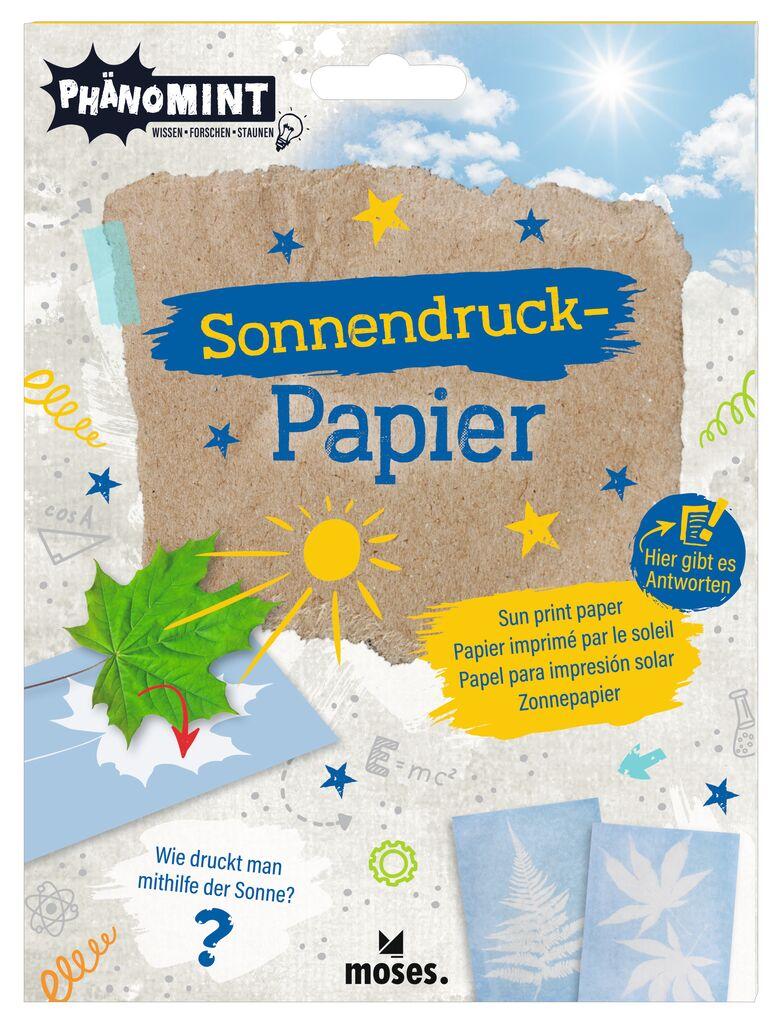 PhänoMINT Sonnendruck-Papier