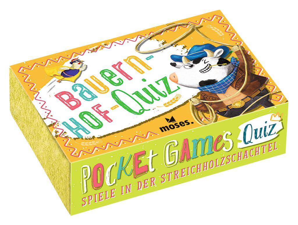 Pocket Games Quiz Bauernhof