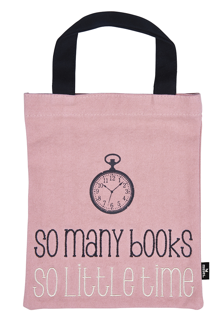 Büchertasche so many books