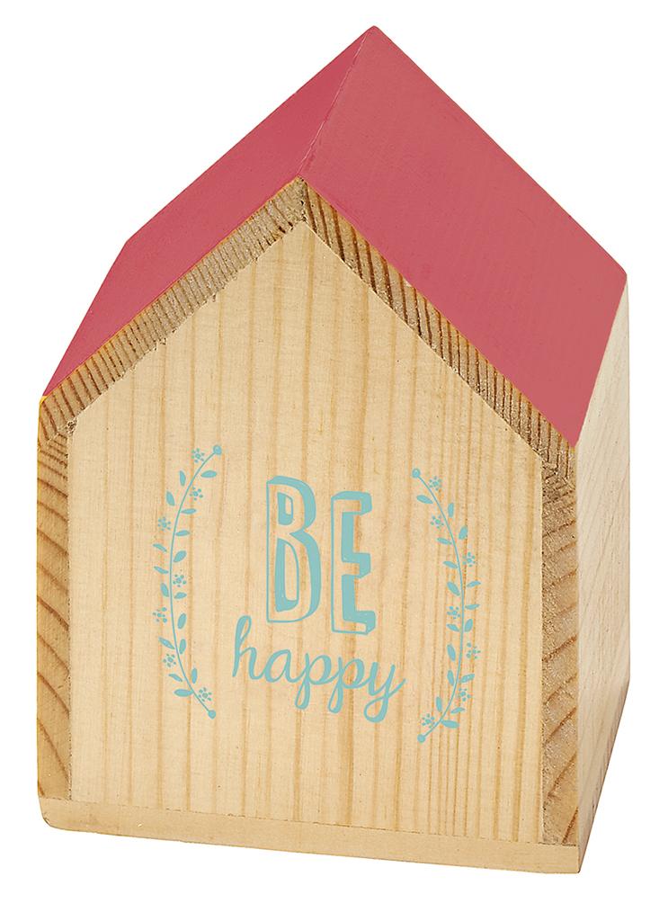 Happy me Spieluhr-Häuschen Be happy