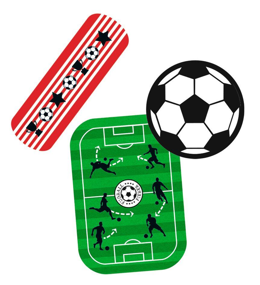 Fußball-Fieber Pflaster