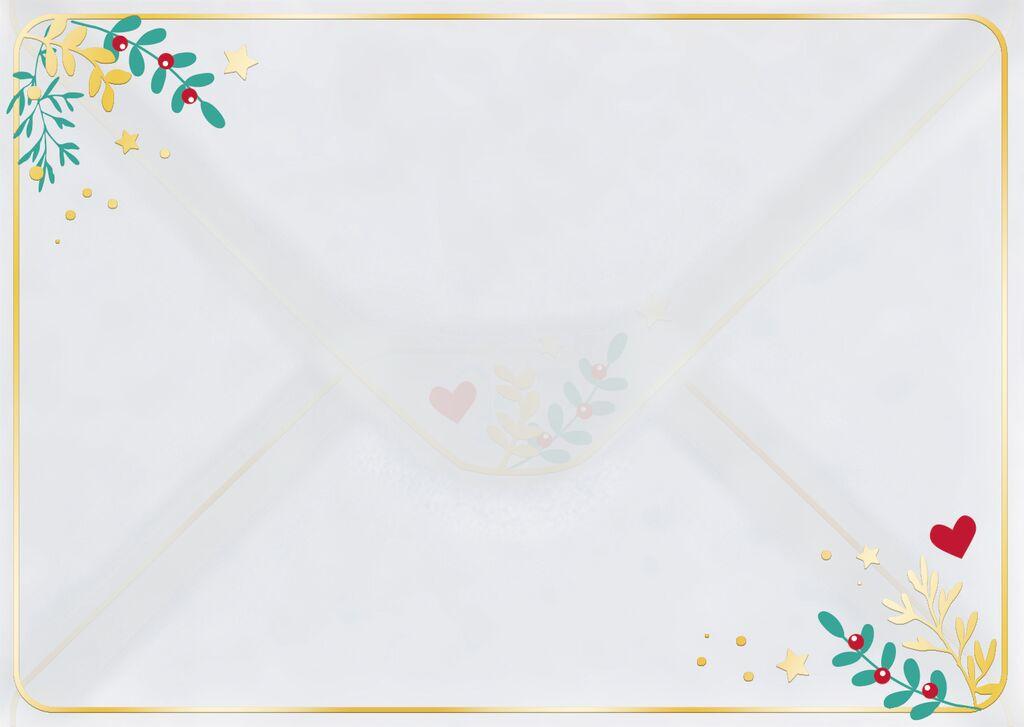 Briefpapier-Set Winterwunder