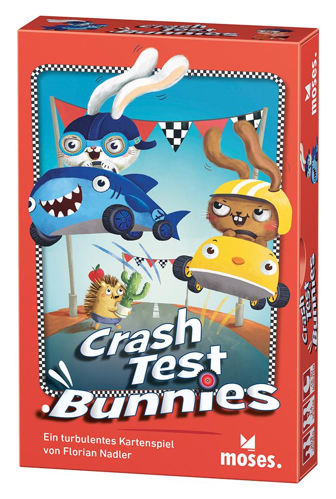 Crash Test Bunnies - Kartenspiel