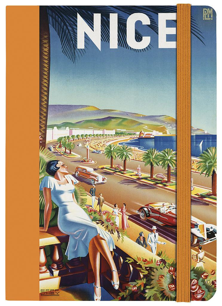 papier & feder Notizbuch A5 Nizza