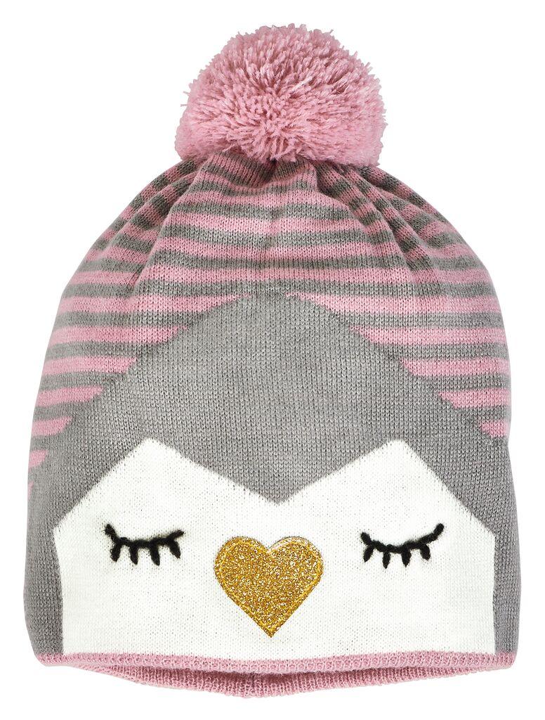 Pudelmütze Weihnachtsfreunde Pinguin