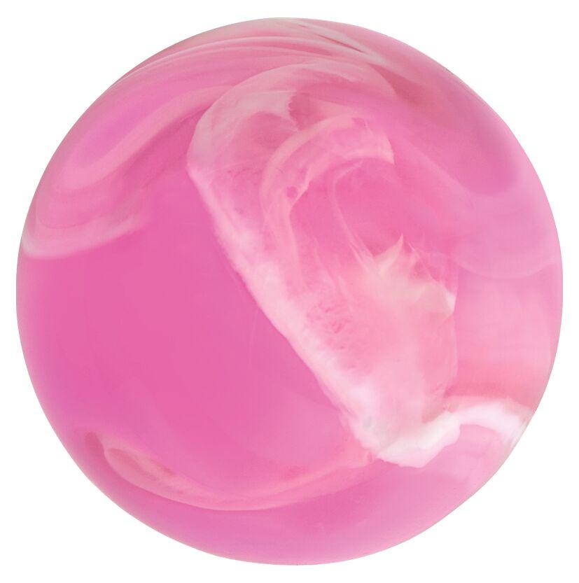 Leuchtender Galaxie-Flummi rosa