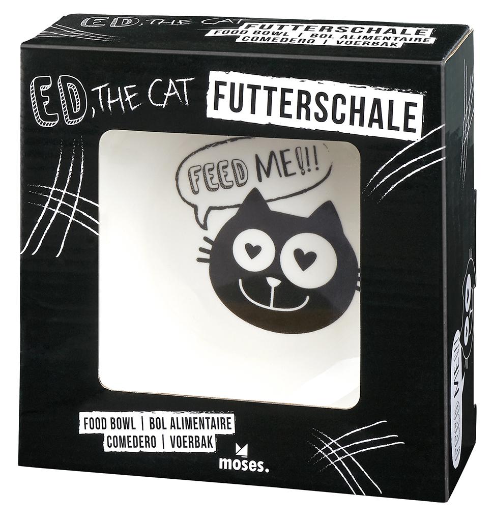 Ed, the Cat Futterschale Feed me