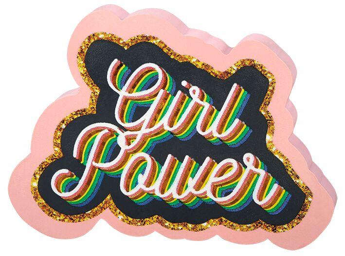 Flowers & Friends Radierer Girlpower