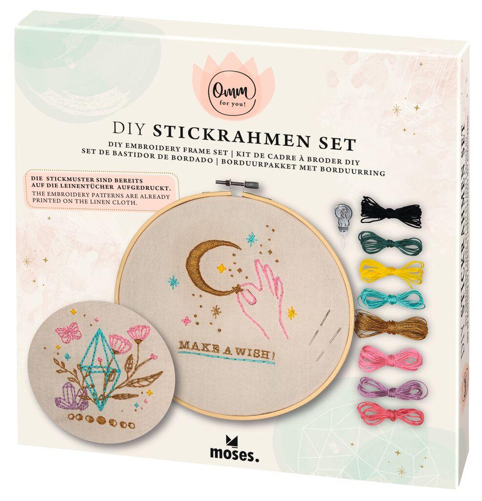 Omm for you DIY Stickrahmen-Set