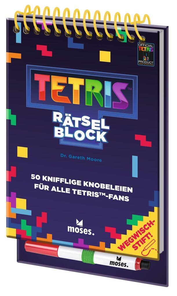 Tetris™-Rätselblock - 50 knifflige Knobeleien