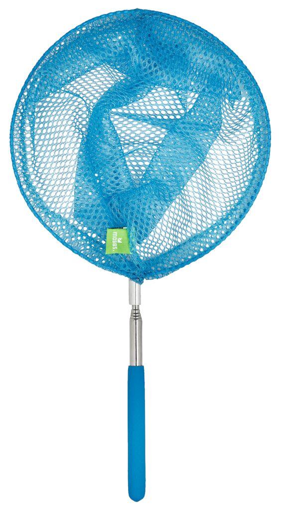 Mein Krabbelkäfer Fangnetz blau