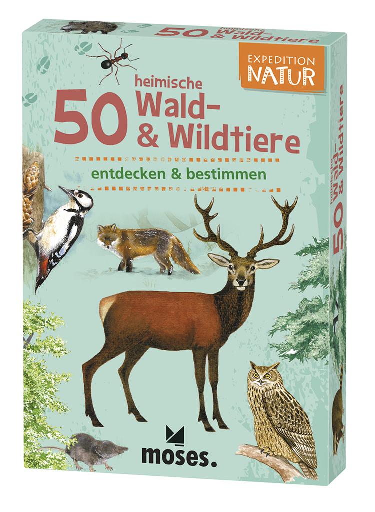 Expedition Natur - 50 heimische Wald- & Wildtiere