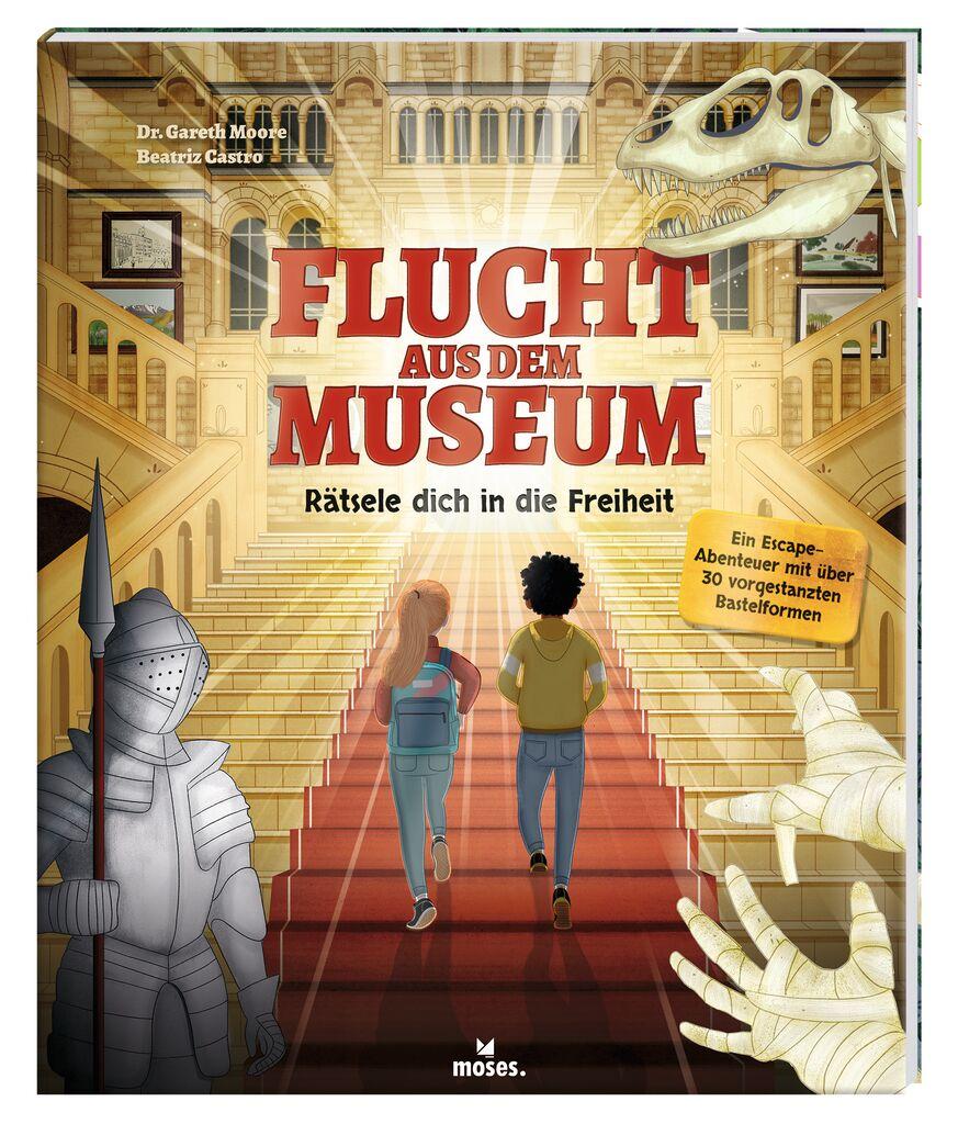 Flucht aus dem Museum - Escape-Bastelabenteuer