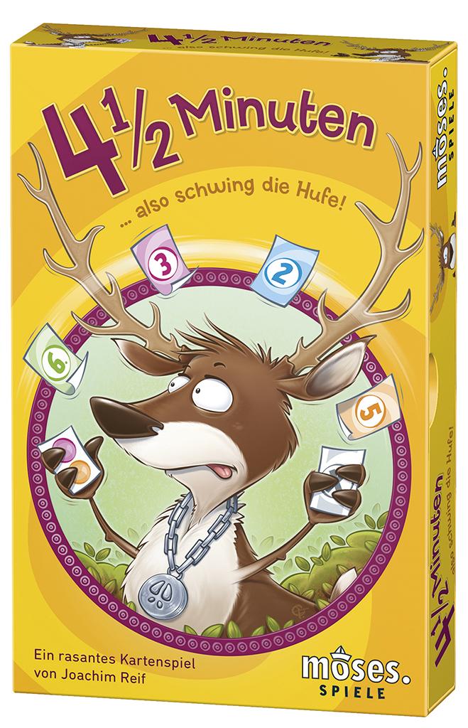 4 1/2 Minuten ... also schwing die Hufe! Kartenspiel