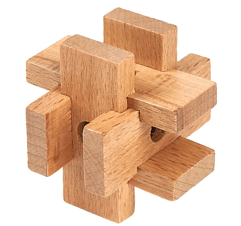 Prof Puzzle Mini IQ Rätsel Kasten