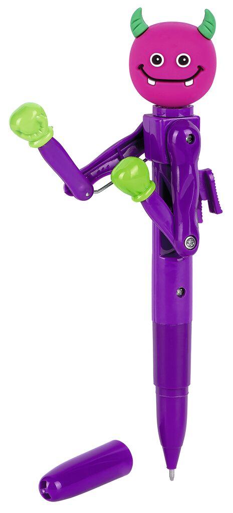 Kugelschreiber Monster-Battle violett
