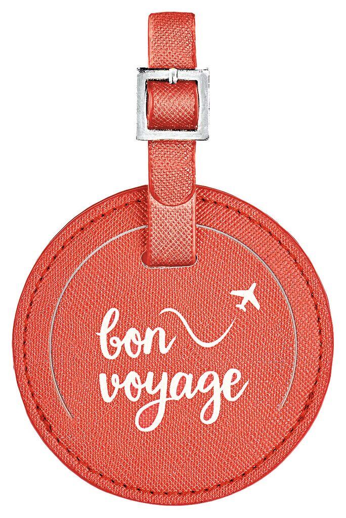 Fernweh Kofferanhänger Bon Voyage