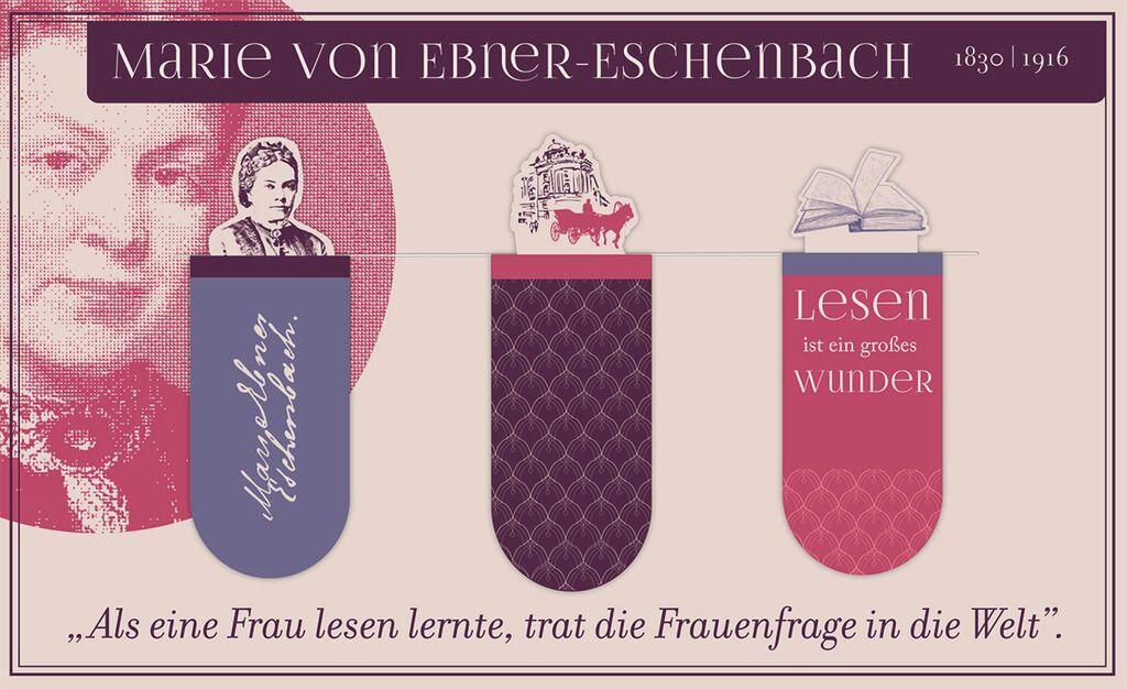Magnetlesezeichen Marie von Ebner-Eschenbach