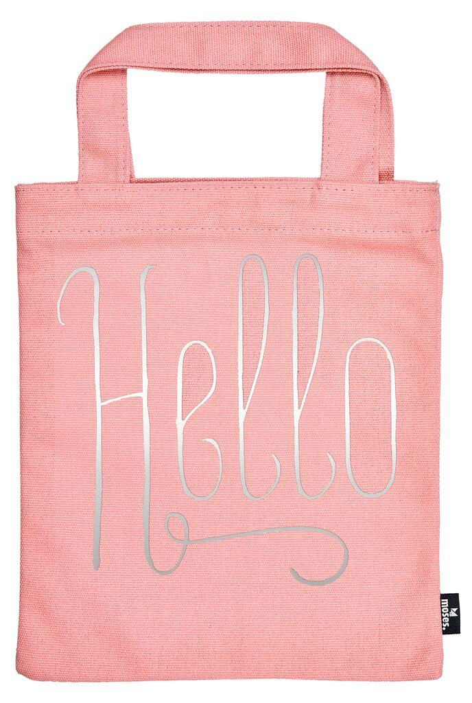 Büchertasche Hello