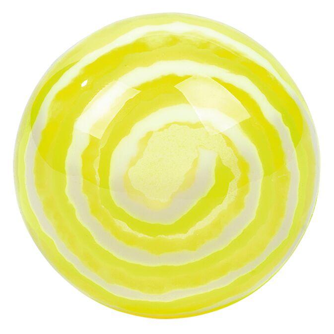 Leuchtender Kringelflummi gelb