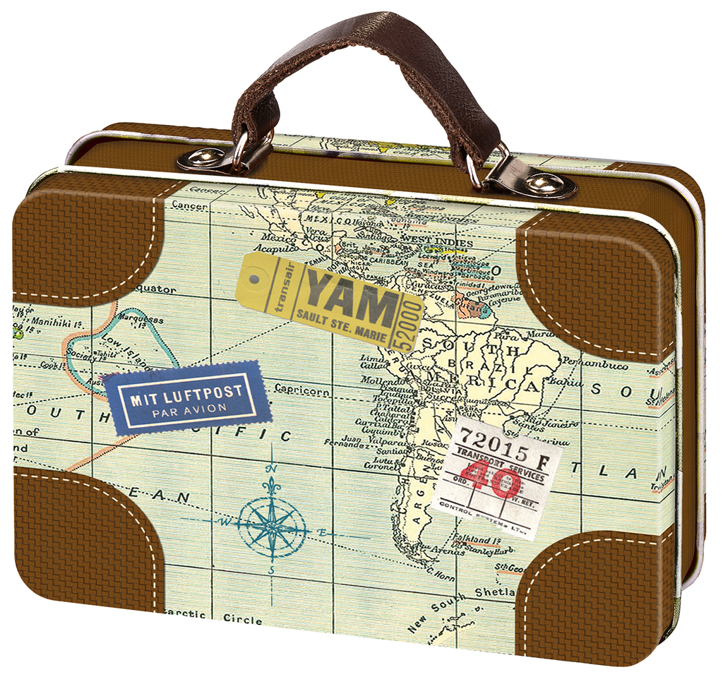 Fernweh Mini-Reisekoffer