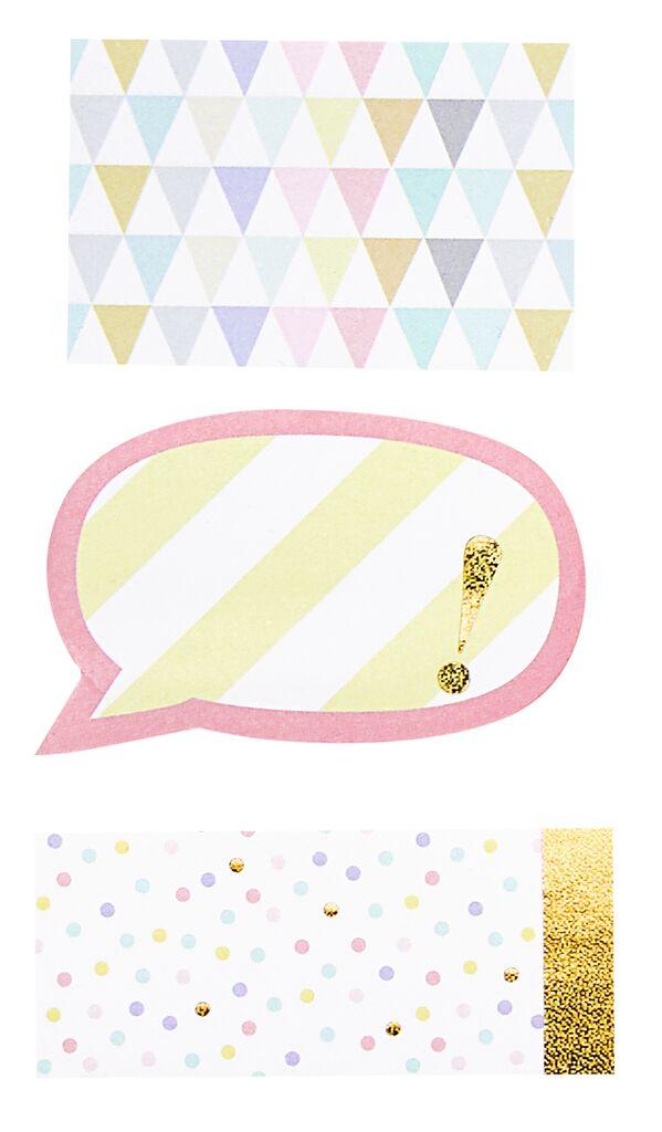Flowers & Friends Sticky Notes
