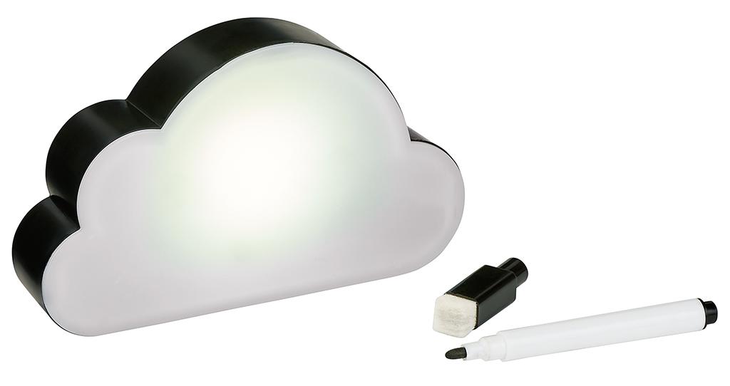 Happy me Leucht-Wolke (magnetisch) mit Stift
