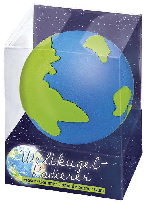 Weltkugel-Radierer